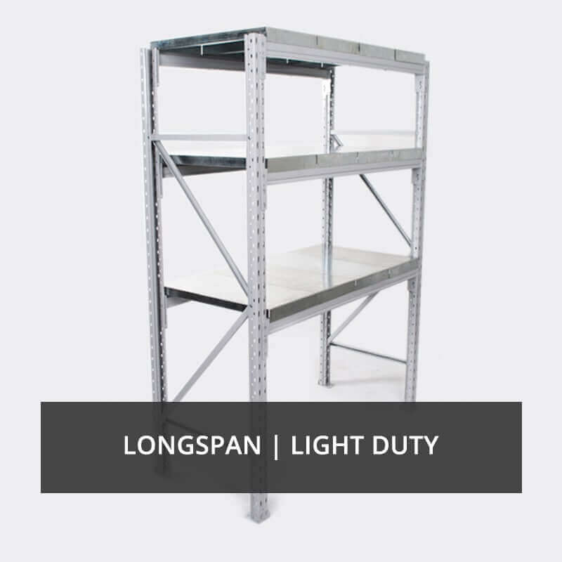Longspan, Light Duty Racks