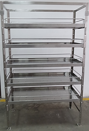 cold room shelving past project